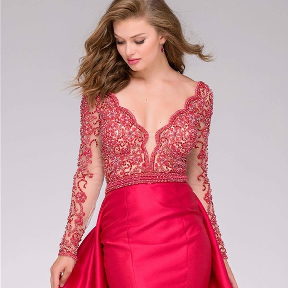 Crimson Dresses